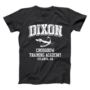 Daryl Dixon Crossbow  Zombies Hunter Costume Funny Black Basic Men's T-Shirt