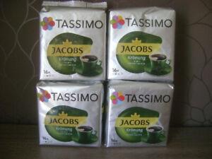 4x Jacobs Tassimo Krönung Kapseln, Kaffee, á 16 Stück, NEU