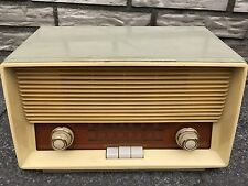 GRAETZ Super 291 MW german vintage tube radio design