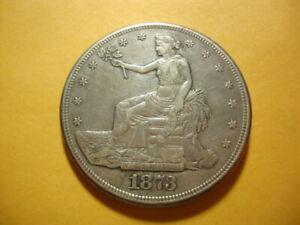 1873-CC XF+ Trade Full Liberty Dollar Superior Looking Coin AZX