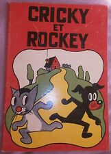 BD années 30 : CRICKY & ROCKEY - RoberT RigoT - Chat & Chien - Enfantina 1936