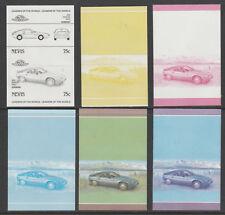 Nevis 6090 - CARS - PORSCHE  set of PROGRESSIVE PROOFS u/m