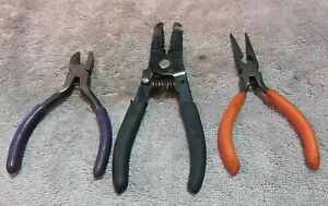 3 ASSORTED UNBRANDED  PLIERS   #PC-348 CLEARANCE SALE !