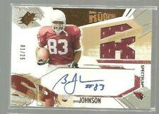 2003 SPx Spectrum #204 Bryant Johnson JSY AU RC 01/25 (REF 1880)