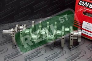 Manley Race Series Forged 88mm STD Stroke Crankshaft DSM EVO 1-9 4G63 7-Bolt