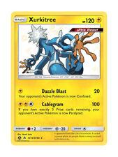 Shiny Xurkitree SV14/SV94 Rare Pokemon Card TCG - Hidden Fates Shiny Vault - New