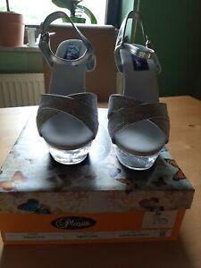 Pleaser USA Swett-440 Silber Gr. 10 High Heels