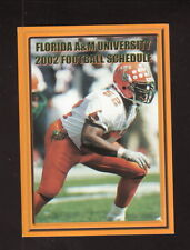 Florida A&M Rattlers--2002 Football Pocket Schedule