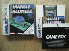 Marble Madness gameboy color game! Complete! LOOK at my other games!