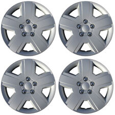 Hubcaps fits 08-10 Dodge Avenger (Pack of 4) 16 Inch Wheel Cover Rim Skin Silver