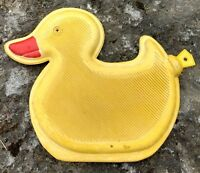 """Rubber Ducky Hot Water Bottle w Stopper Yellow made by """"Décor Craft"""""""