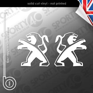 Peugeot Lion Sticker Vinyl Decal 6603-0521