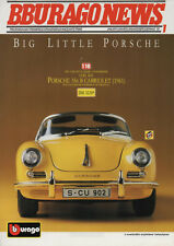 Bburago-News-janvier 1993-PORSCHE 356 B cabiolet (1961) - quality made in Italy-Neuf