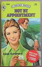 Not By Appointment ~ ESSIE SUMMERS ~ Mills & Boon Vintage