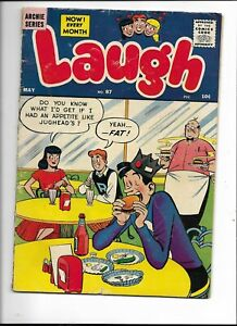 Laugh Comics 87 VG+ (4.5) 5/58 Archie, Betty and the Gang! Very Funny Stuff!