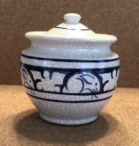 THE POTTING SHED Dedham Ceramic Round Box w/ Lid
