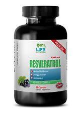 Serotonin Resveratrol 1000 - Anti-Aging - Resveratrol Supreme 1200mg Capsules 1B