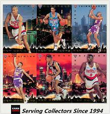 1994 Futera NBL Trading Cards S2 SAMPLE NBL Heroes Scott Fisher Set (7)