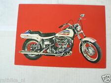 HARLEY-DAVIDSON 1200  SUPER GLIDE MOTORCYCLE MOTORRAD VINTAGE ORIGINAL POSTCARD