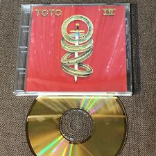 TOTO IV JAPAN 24k GOLD SBM CD w/24p P/S Booklet+Picture CD SRCS6997 Free S&H/P&P