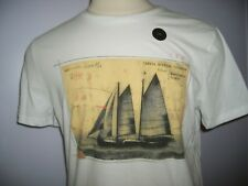 MEN'S BANANA REPUBLIC  GRAPHIC TEE (  SIZE  LARGE  ) CREW NECK   NWT