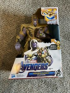 "Marvel Avengers Power Punch Thanos 13"" Figure - New In Box"