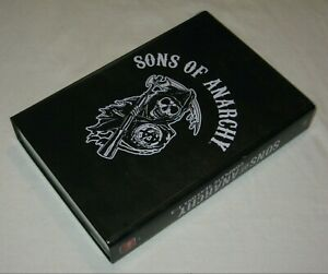 Sons Of Anarchy - Complete Seasons 1-3 - Steel Case - VGC - Region B - Blu Ray
