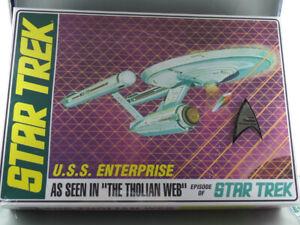 STAR TREK USS ENTERPRISE THOLIAN WEB EDITION - AMT 1:650 scale Model Kit AMT695