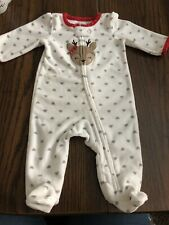 Child Of Mine By Carters Nb Girl Reindeer Fleece Slepper
