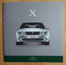 JAGUAR X TYPE orig 2001 Multi-Language Sales Brochure