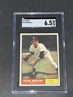 1961 Topps #14 Don Mossi SGC 6.5 Newly Graded & Labelled