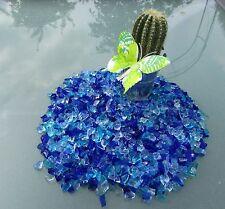 "Seedeco® Glassteine Glaskies 10kg ""Made in Germany"" Blau Mix  606-10"
