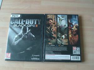 Call of Duty Black Ops II & shellshock nam 67       new&sealed