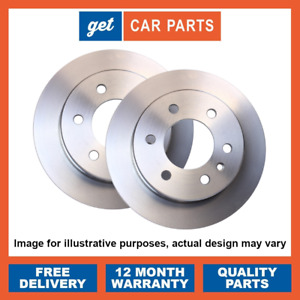 Front Brake Discs x2 for Toyota Aygo 1.0 / 1.4 D-4D 2005 - 2012 OE Aftermarket