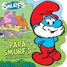 Papa Smurf's Favorite Things (Smurfs Classic) - LikeNew - Peyo - Board book