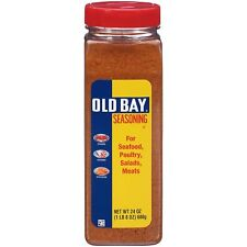Old Bay Seasoning Seafood Chicken Salad Popcorn Fries Spices Herbs Flavor 24Oz