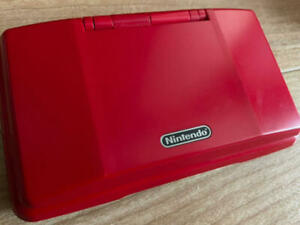 Nintendo DS Lava Red Console Only w/ Stylus Pen JAPENESE ver Used [C]