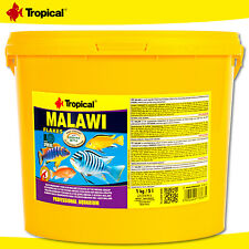 Tropical 5 L Malawi Flakes Food For Malawisee-Cichliden Der Mbuna-Gruppe