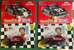1993 BILL ELLIOTT 2 VERSION #11 Racing Champions racecar LOT NASCAR Diecast 1/64