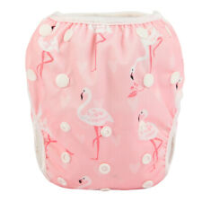 2019 New Swim Diaper Nappy Pants Reustable Baby Toddler Flamingo Girls