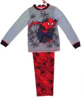 Marvel Disney Spider-Man Boy's Kids Pajama 2 Piece Set Size 7/8 Up To 128 cm NWT