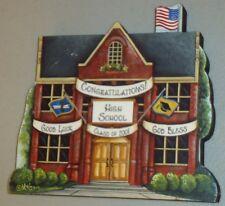 Brandywine Woodcrafts High School Graduation June Shelf Sitter Wood Building