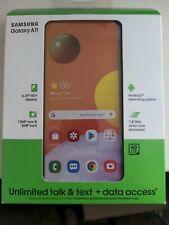 Cricket Wireless Prepaid Samsung Galaxy A11, 32GB (Single SIM) New Sealed