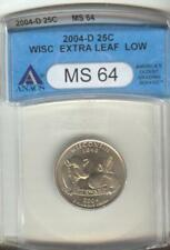 wis.extra leaf low ms-64 Anacs