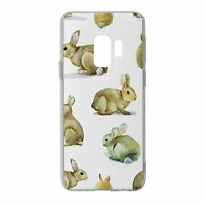 For Samsung Galaxy S9 Silicone Case Rabbit Pattern - S3156