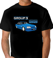 BROCK  VK  GROUP 3  'SS'  COMMODORE  BLACK  TSHIRT  (3 CAR COLOURS)  BIG FIT