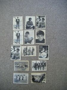 BEATLES ABC CARDS used..