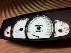 D Opel Omega B1 Tachoscheiben bis 300 km/h