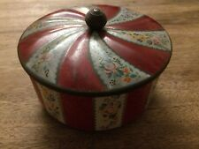 Pretty Vintage Horner's Confectionary Sweet Tin Advertising Collectable