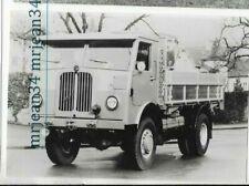 Photo Ancienne Camion ancien LKW old truck BERNA 1950 9X13 CM